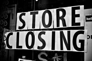 call it a hunch, but i have a feeling that this store is closing