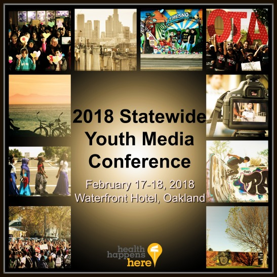 Youth Media Conference flyer
